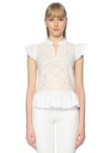 Belle Epoque Bluz Beyaz